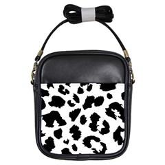 Leopard Skin Girls Sling Bags