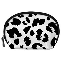 Leopard Skin Accessory Pouches (large)