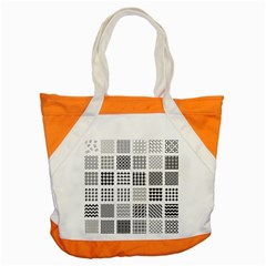 Retro Patterns Accent Tote Bag