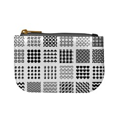 Retro Patterns Mini Coin Purses