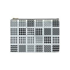 Retro Patterns Cosmetic Bag (Medium)