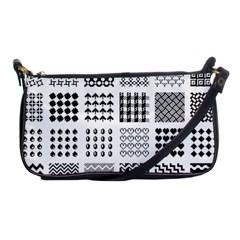 Retro Patterns Shoulder Clutch Bags