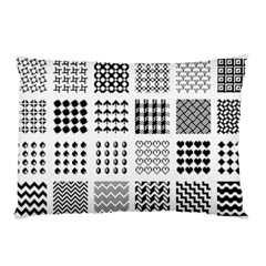 Retro Patterns Pillow Case (two Sides)