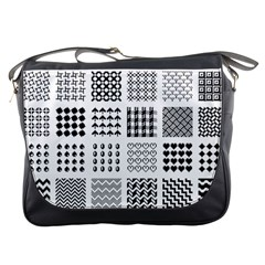 Retro Patterns Messenger Bags