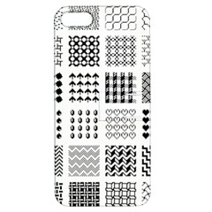 Retro Patterns Apple Iphone 5 Hardshell Case With Stand