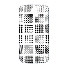 Retro Patterns Samsung Galaxy S4 I9500/i9505  Hardshell Back Case