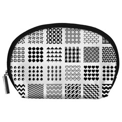 Retro Patterns Accessory Pouches (Large)