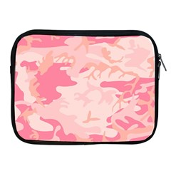 Pink Camo Print Apple Ipad 2/3/4 Zipper Cases