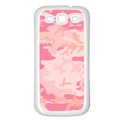 Pink Camo Print Samsung Galaxy S3 Back Case (white)