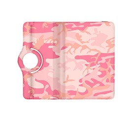 Pink Camo Print Kindle Fire Hdx 8 9  Flip 360 Case