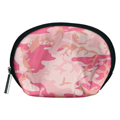 Pink Camo Print Accessory Pouches (medium)