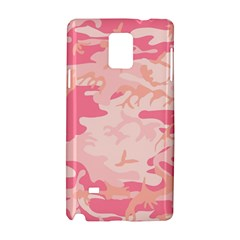 Pink Camo Print Samsung Galaxy Note 4 Hardshell Case