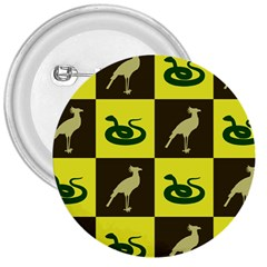 Bird And Snake Pattern 3  Buttons
