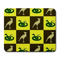 Bird And Snake Pattern Large Mousepads