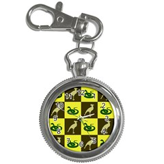 Bird And Snake Pattern Key Chain Watches