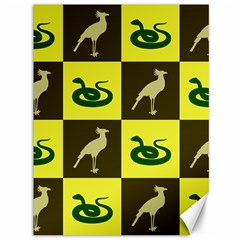 Bird And Snake Pattern Canvas 36  X 48