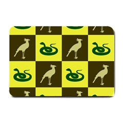 Bird And Snake Pattern Small Doormat