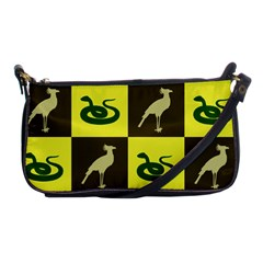 Bird And Snake Pattern Shoulder Clutch Bags