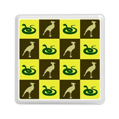 Bird And Snake Pattern Memory Card Reader (square)