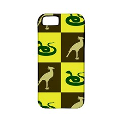 Bird And Snake Pattern Apple iPhone 5 Classic Hardshell Case (PC+Silicone)