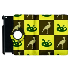 Bird And Snake Pattern Apple Ipad 3/4 Flip 360 Case