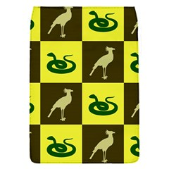 Bird And Snake Pattern Flap Covers (s)