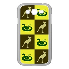 Bird And Snake Pattern Samsung Galaxy Grand Duos I9082 Case (white)