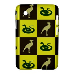Bird And Snake Pattern Samsung Galaxy Tab 2 (7 ) P3100 Hardshell Case