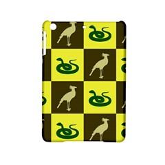 Bird And Snake Pattern Ipad Mini 2 Hardshell Cases