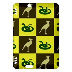 Bird And Snake Pattern Kindle Fire Hdx Hardshell Case