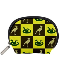 Bird And Snake Pattern Accessory Pouches (Small)