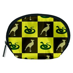 Bird And Snake Pattern Accessory Pouches (medium)
