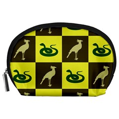 Bird And Snake Pattern Accessory Pouches (large)