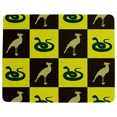 Bird And Snake Pattern Jigsaw Puzzle Photo Stand (Rectangular)