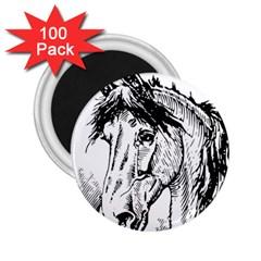 Framed Horse 2.25  Magnets (100 pack)