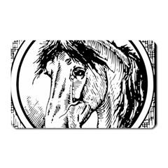Framed Horse Magnet (rectangular)