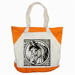 Framed Horse Accent Tote Bag
