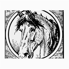 Framed Horse Small Glasses Cloth (2-Side)