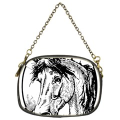 Framed Horse Chain Purses (two Sides)