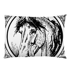 Framed Horse Pillow Case