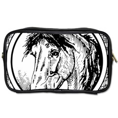 Framed Horse Toiletries Bags