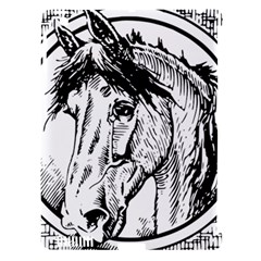 Framed Horse Apple iPad 3/4 Hardshell Case (Compatible with Smart Cover)