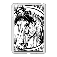 Framed Horse Apple Ipad Mini Case (white)