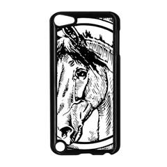 Framed Horse Apple Ipod Touch 5 Case (black)