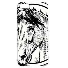 Framed Horse Apple Iphone 5 Hardshell Case With Stand