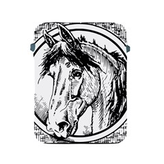 Framed Horse Apple Ipad 2/3/4 Protective Soft Cases