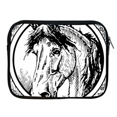 Framed Horse Apple Ipad 2/3/4 Zipper Cases