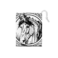 Framed Horse Drawstring Pouches (small)