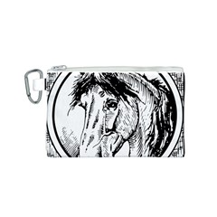 Framed Horse Canvas Cosmetic Bag (s)