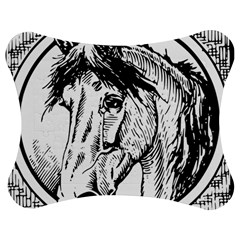 Framed Horse Jigsaw Puzzle Photo Stand (Bow)